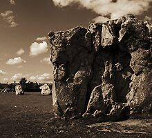 Avebury stone circle, Wiltshire, UK by buttonpresser