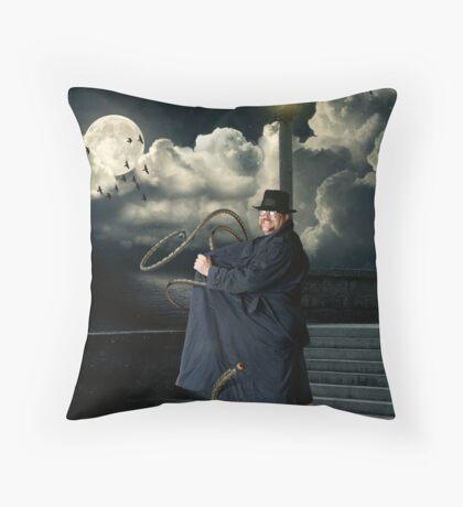 Secret Agent Man Throw Pillow