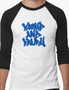 Stomp and Crush - 2015 - Blue Men's Baseball ¾ T-Shirt