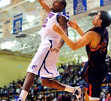 ECSU Basketball by Brett Clark