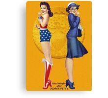 Wonder Woman Pin-Up 02 Canvas Print