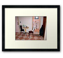 The Smallest Room. Framed Print