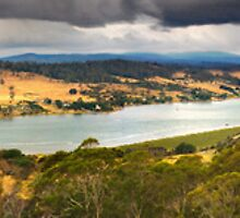 Along the River Tamar from Bradys Look out by LesBennett