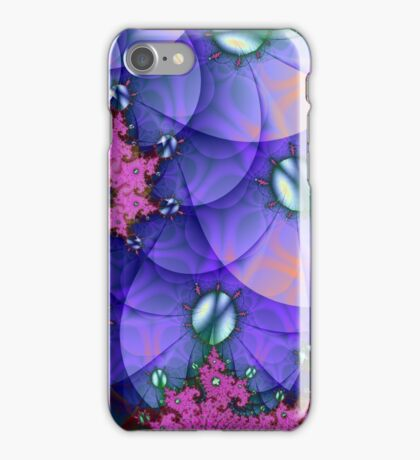 PURPLE SAND DOLLAR SWIRL iPhone Case/Skin