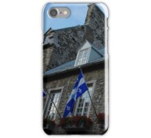 Old Stone Houses in Quebec City, Canada  iPhone Case/Skin