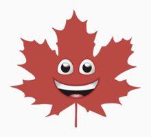 Maple Leaf Smiley by jean-louis bouzou