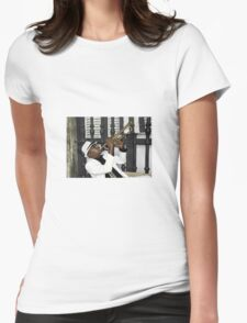 Mr Trumpet  Womens Fitted T-Shirt