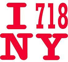 1 718 NY,  I love NY by hookink