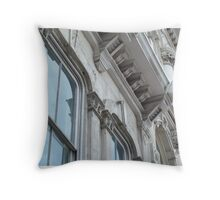 Infinite Facade - Austin, Texas Throw Pillow