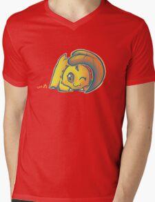 Chikorita Mens V-Neck T-Shirt