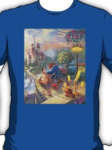 Disney Beauty and the Beast - All Main Characters  T-Shirt