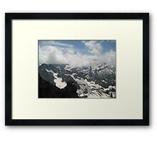 Above and Below - Switzerland Framed Print