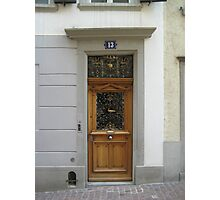 A Door in Zurich Photographic Print