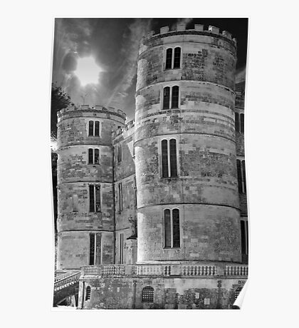 Lulworth Towers Poster