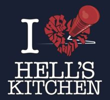 "I ""Love"" Hell's Kitchen One Piece - Long Sleeve"
