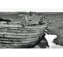 Blakeney Wreck Photographic Print