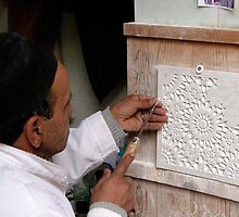 The Stone Carver. by romaro