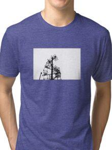 Trolley Art Tri-blend T-Shirt