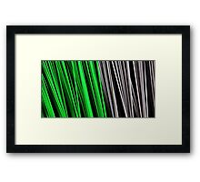 Sweeping Abstract Framed Print