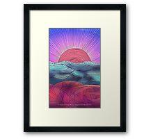 Meditation 2 - New Day Framed Print