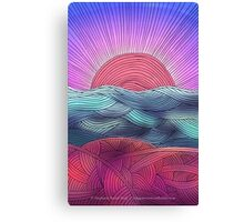 Meditation 2 - New Day Canvas Print