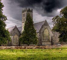 A Church - Adare, County Limerick, Ireland by Mark Richards