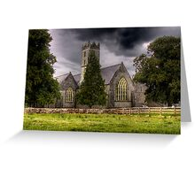 A Church - Adare, County Limerick, Ireland Greeting Card