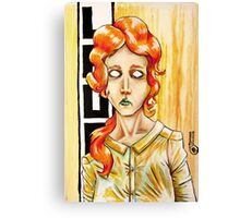 Laure : Acrylic Painting Canvas Print