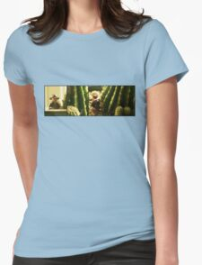 Small world, Dr. Jones... Womens Fitted T-Shirt