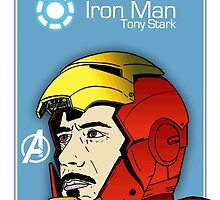 Iron Man - Tony Stark - Robert Downey Jr - Avengers - Age Of Ultron - Marvel by Matty723