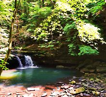 Blue Hole Falls by SmarttImages