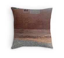 Sandland (1) Throw Pillow