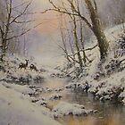 Winters Evening Mist by JoeHush