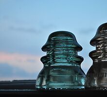 Insulator at Dusk by goddarb
