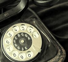 Old Telephone by Mers Duran