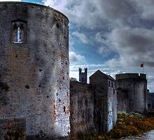 King John's Castle - Limerick, Ireland by Mark Richards