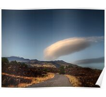 Nuvole sul vulcano Poster