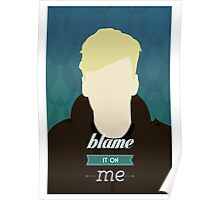 George Ezra Blame It On Me Minimalist Poster