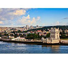 Belém Tower (Torre de Belém) Lisbon, Portugal Photographic Print