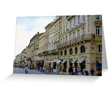 Streetscape I Greeting Card