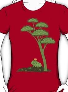 Frog Prince under a tree T-Shirt