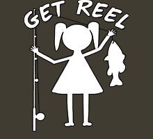 GET REEL GIRL Womens Fitted T-Shirt