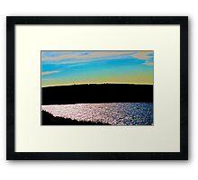 Unquie Landscape Framed Print