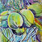 Bunch of coconuts by christine purtle