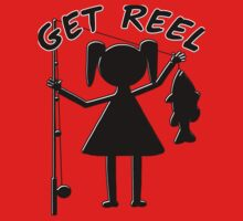 GET REEL GIRL One Piece - Short Sleeve