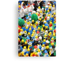 Lego Army Canvas Print