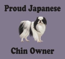 Proud japanese chin owner by Amy Sheets