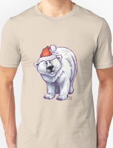 Polar Bear Christmas Unisex T-Shirt