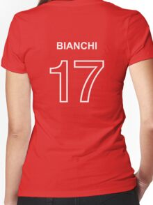 Bianchi 17 Women's Fitted V-Neck T-Shirt