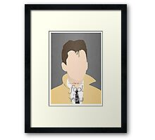 Arctic Monkeys Minimalist Alex Turner Framed Print